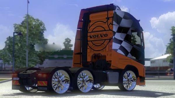 Volvo Racing Orange