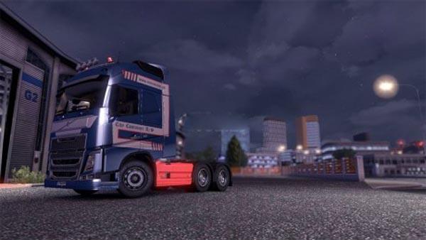 City Container skin Volvo fh W.I.P