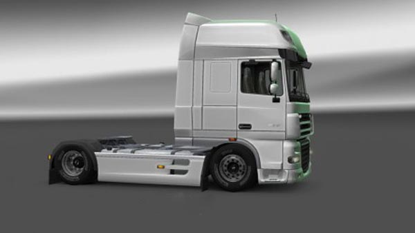 DAF XF 105 Lowered