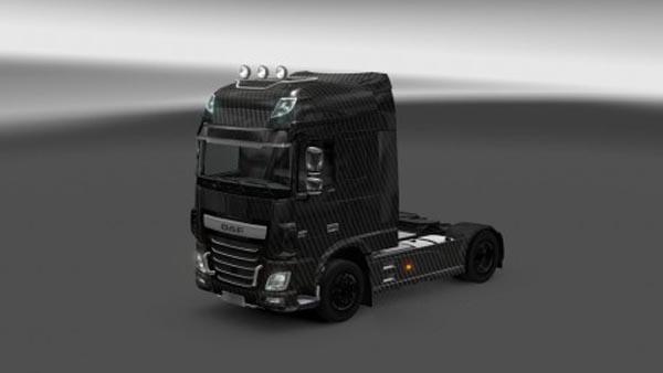 DAF XF Euro 6 Carbono Skin