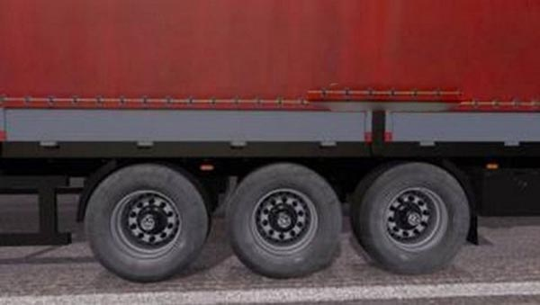 Dirty Wheels for Trailers