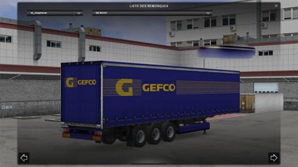 Gefco Trailer