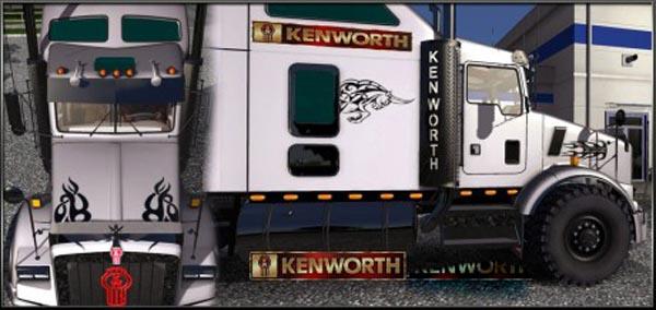 Kenworth T800 Skin