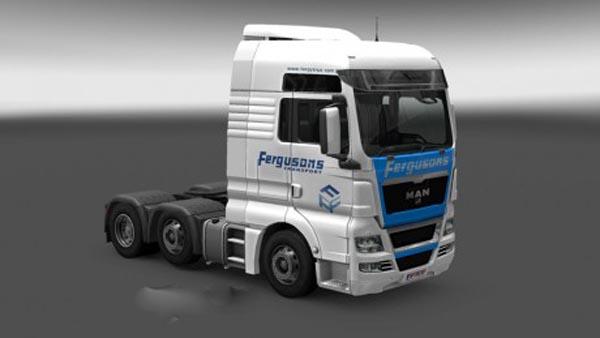 MAN Fergusons Transport Skin