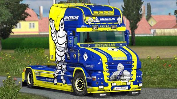 MICHELIN T-cab EXC skin
