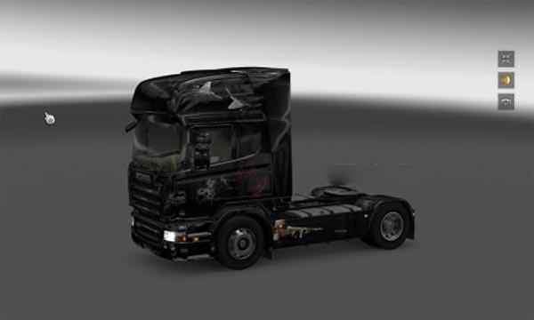 Modern Warfare Skin for Scania R2008 50K