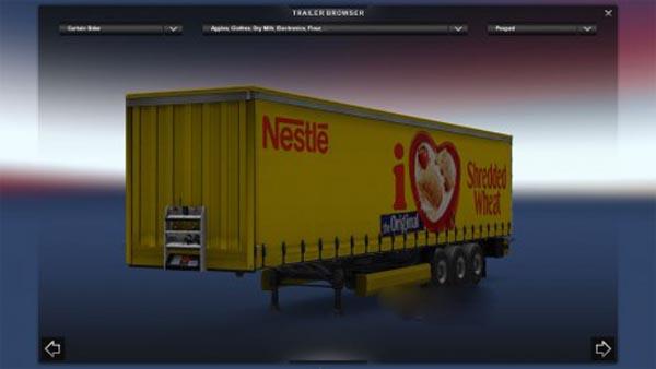 Nestle Shredded Wheat Trailer
