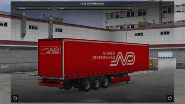 Norbert Dentressangle Trailer