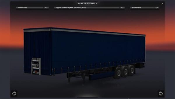 Plain Blue Trailer