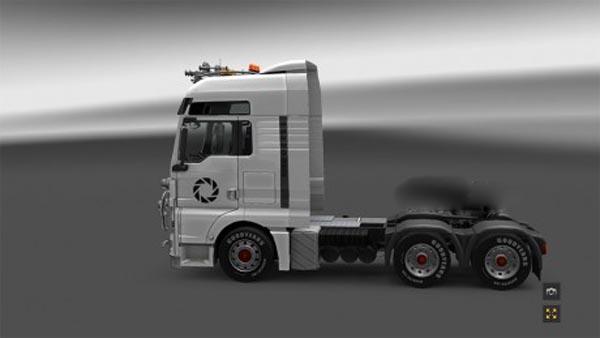 Portal truck skin