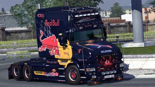 RedBull Scania T-cab EXC pack