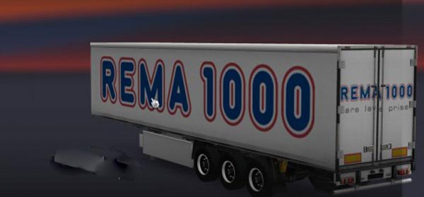 Rema 1000 Cooliner Trailer
