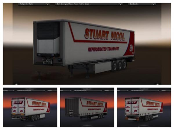 SNT Refrigerated Trailer