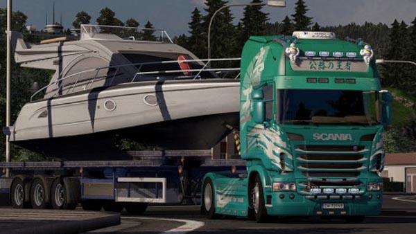 Scania King Skin