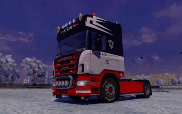 Scania R 2008 S.T.M Skin