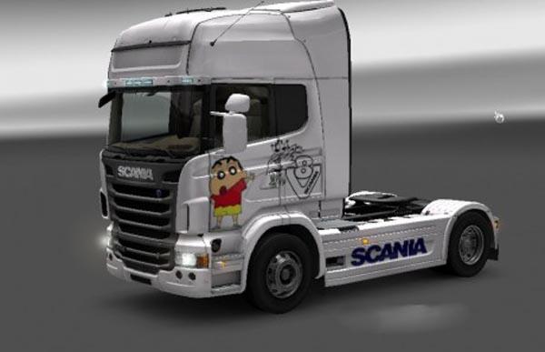 Scania R Crayon Skin
