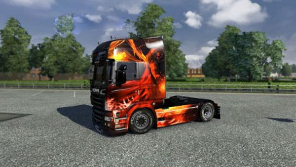 Scania R Devils and Angels Skin