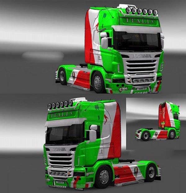 Scania R ITALIA Skin