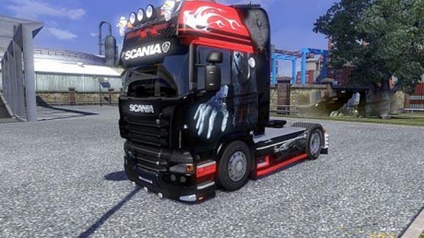 Scania R Karbon Skins 1.15
