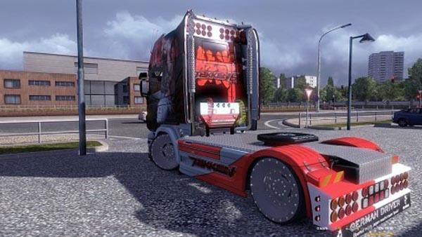 Scania R Tekken Skin 1.16.2