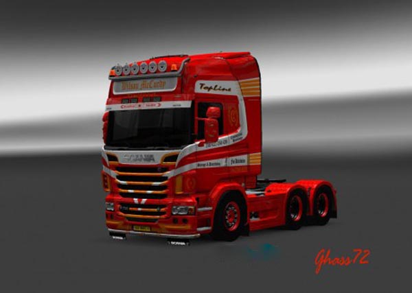 Scania R Wilson McCurdy Skin
