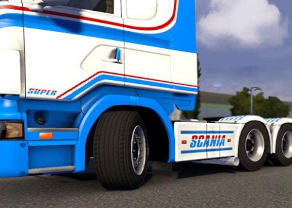Scania R2008 side pipe v1