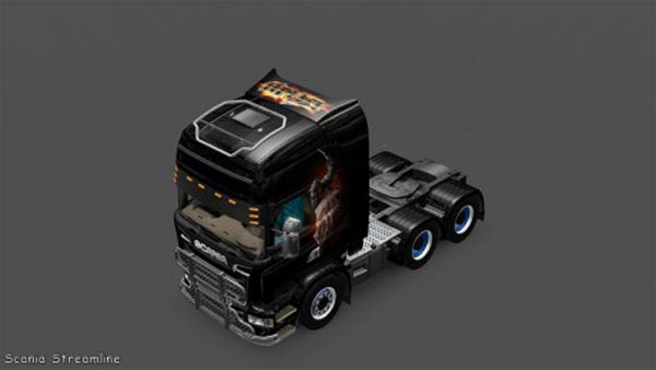 Scania Streamline Aria Skin