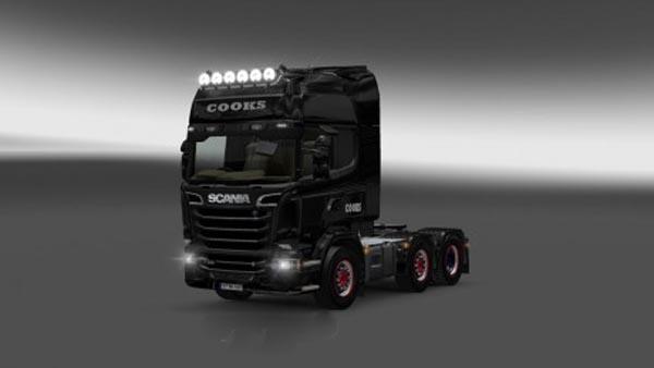 Scania Streamline Cooks Skin
