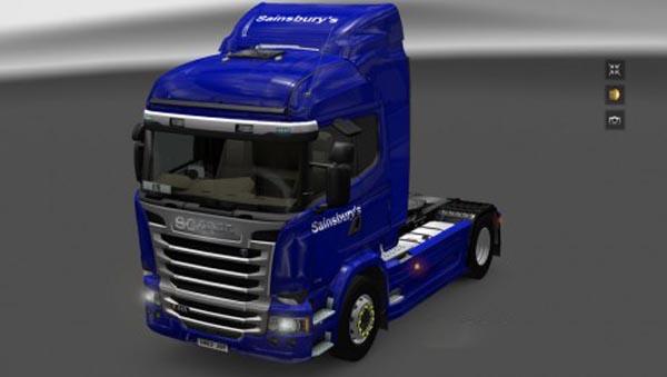 Scania Streamline Sainsburys Skin