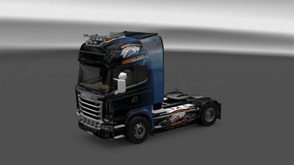 Scania Streamline Virtus.Pro CSGO Skin