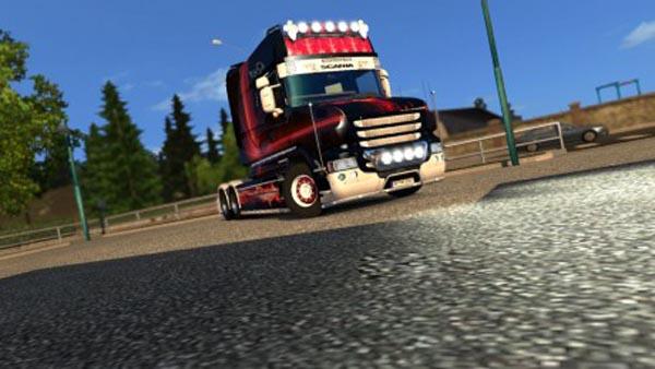 Scania T Longline Red Eagle Skin