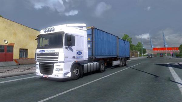 Sibon Transport DAF XF 50k