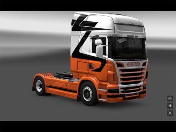Skin Scania R2009