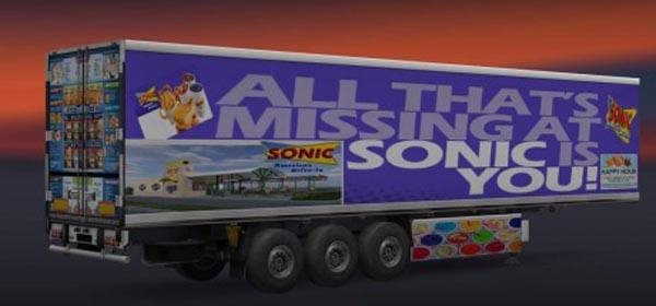 Sonic Restaurant Trailer