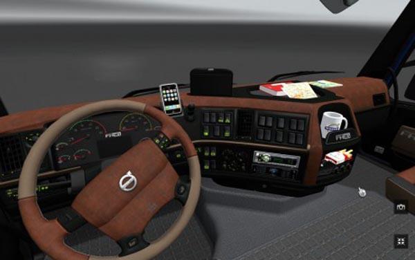 Volvo FH 2009 Brown Interior