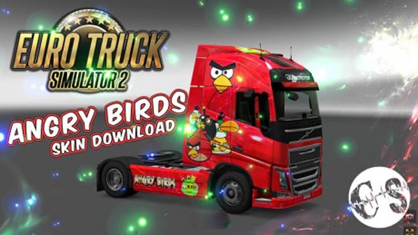 Volvo FH 2012 Angry Birds Skin