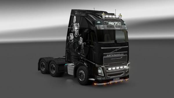 Volvo FH 2012 Expendables Skin