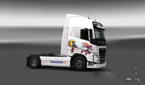 Volvo FH 2012 Megaman Zero Skin