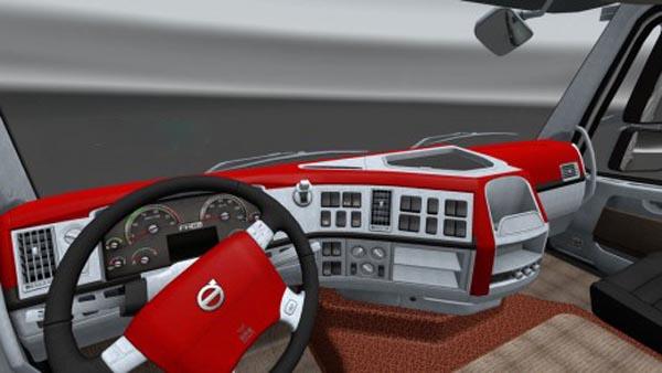 Volvo FH16 Sport Interior