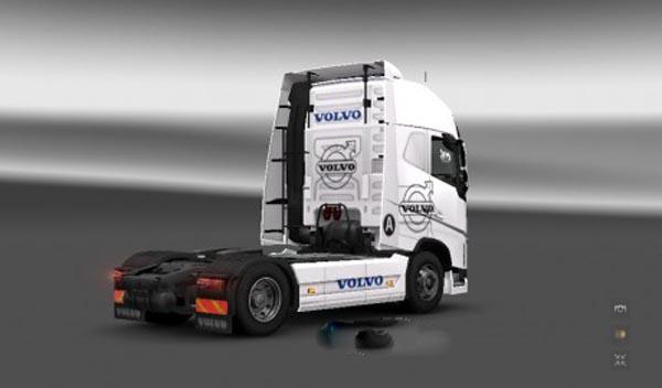 Volvo Logo Skin