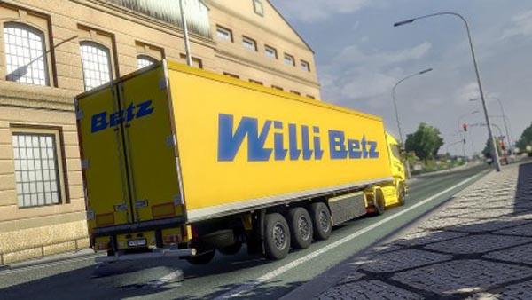 Willi Betz Trailer