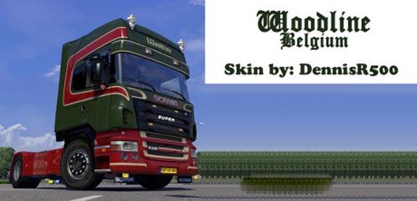 Woodline Belgium – 50k R2008 Skin