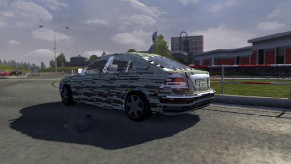 AI Traffic Crazy Mondeo Skin
