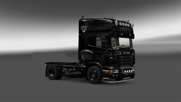 Black Mamba Scania