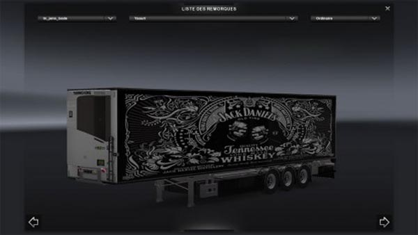 Chereau Jack Daniels Trailer