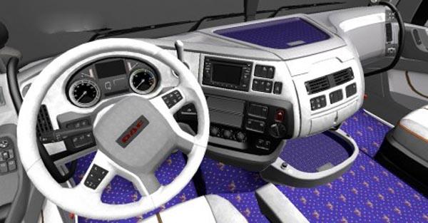 DAF XF Euro 6 Interior