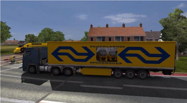 Dutch Railways Trailer