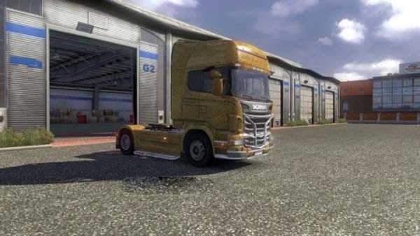 Gold Scania R 2009