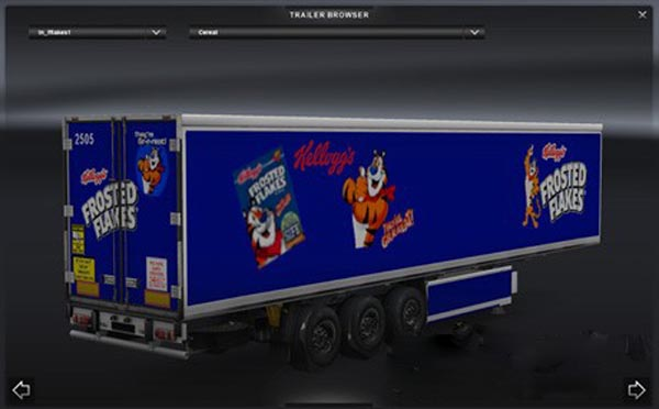 Kellogg Cereal Trailers Pack 01