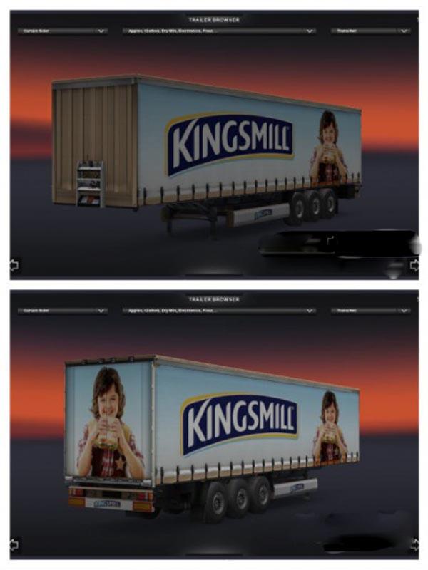 Kingsmill Bread Trailer